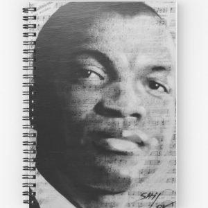 Mr Emmanuel Spiral Notebook